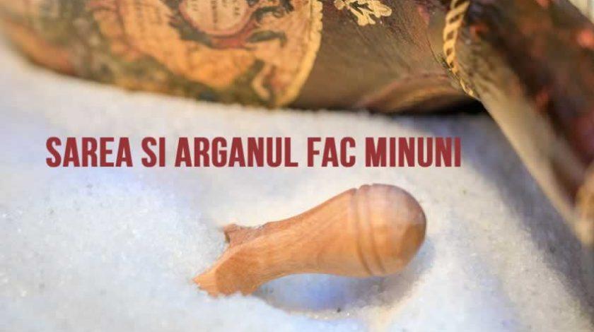 Beneficiile uleiului de argan si ale sarii de mare pentru tenul tau